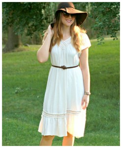 Floppy Hat + Dress