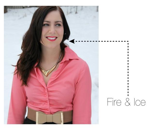Fire & Ice Revlon Lipstick
