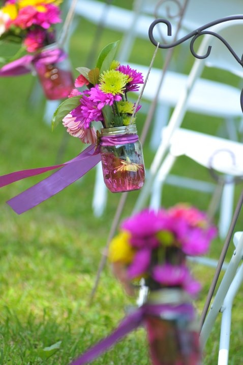 Mason Jar_Aisle Decor