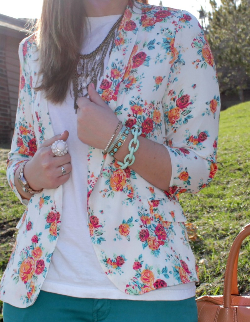 Floral Blazer 12