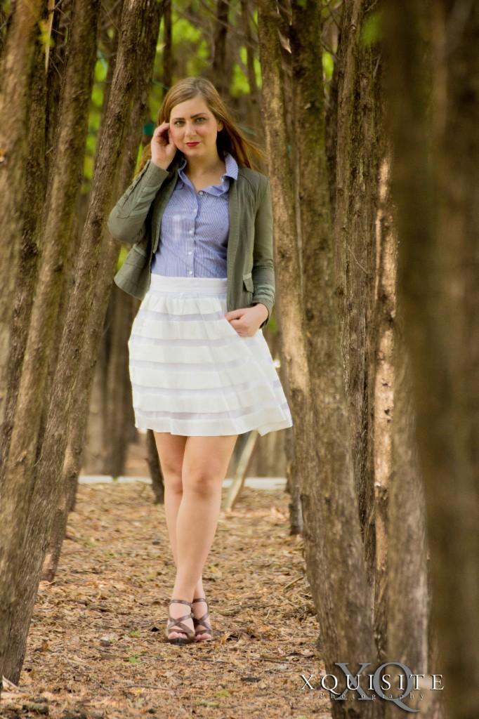 white skirt 7