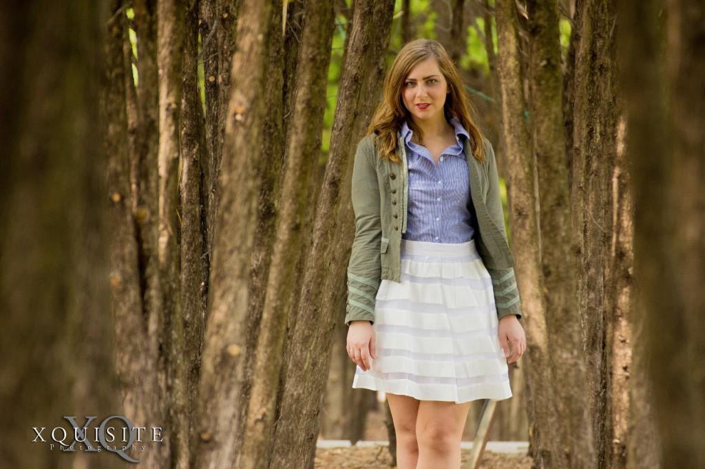 white skirt 8