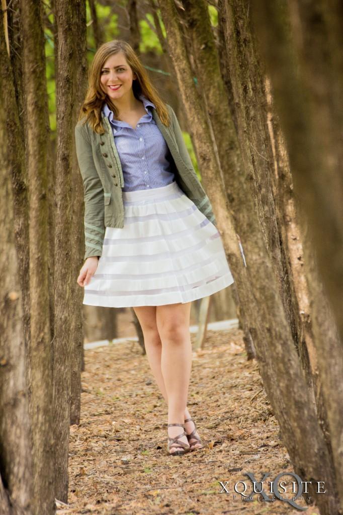 white skirt 9