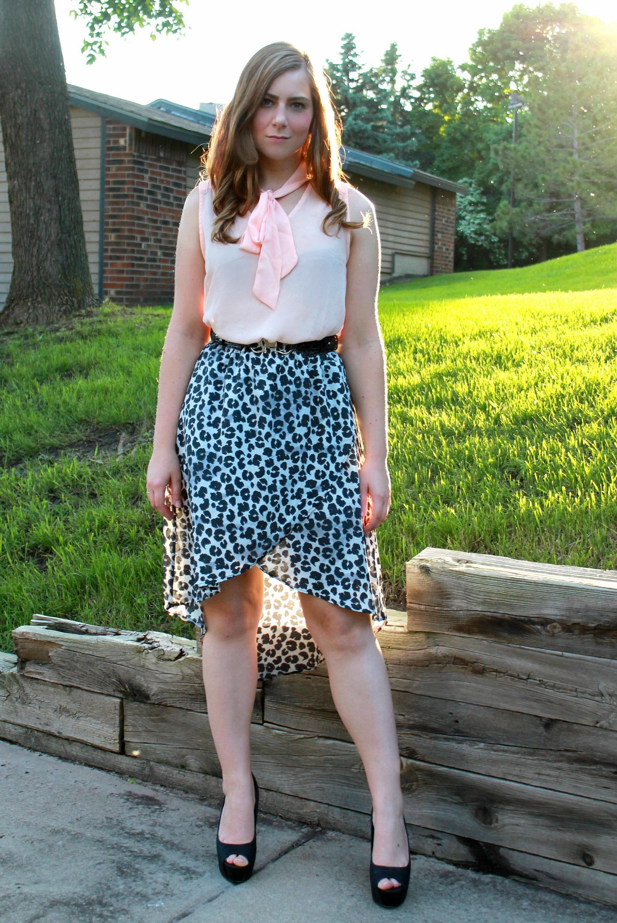 leopard skirt 2