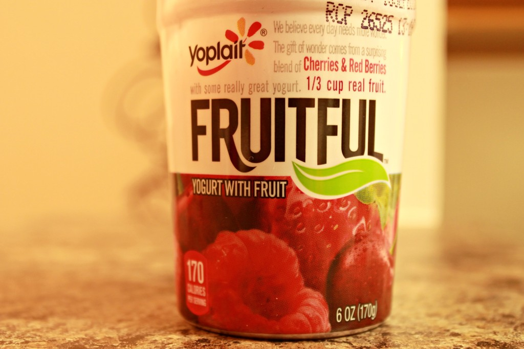 Yogurt and Fruit