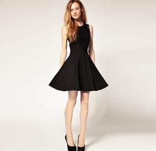 Black Dress for Casino Night