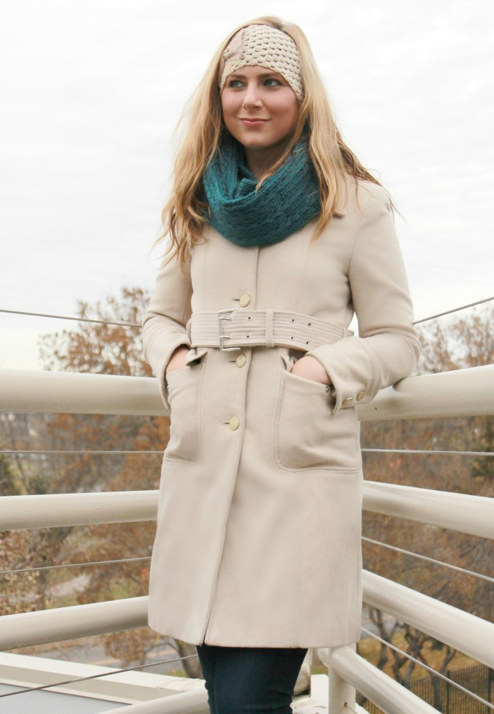 Sears Cold Weather Gear, teal infinity scarf, pretty infinity scarves, searsStyle, #shop, #ThisisStyle, #cbias