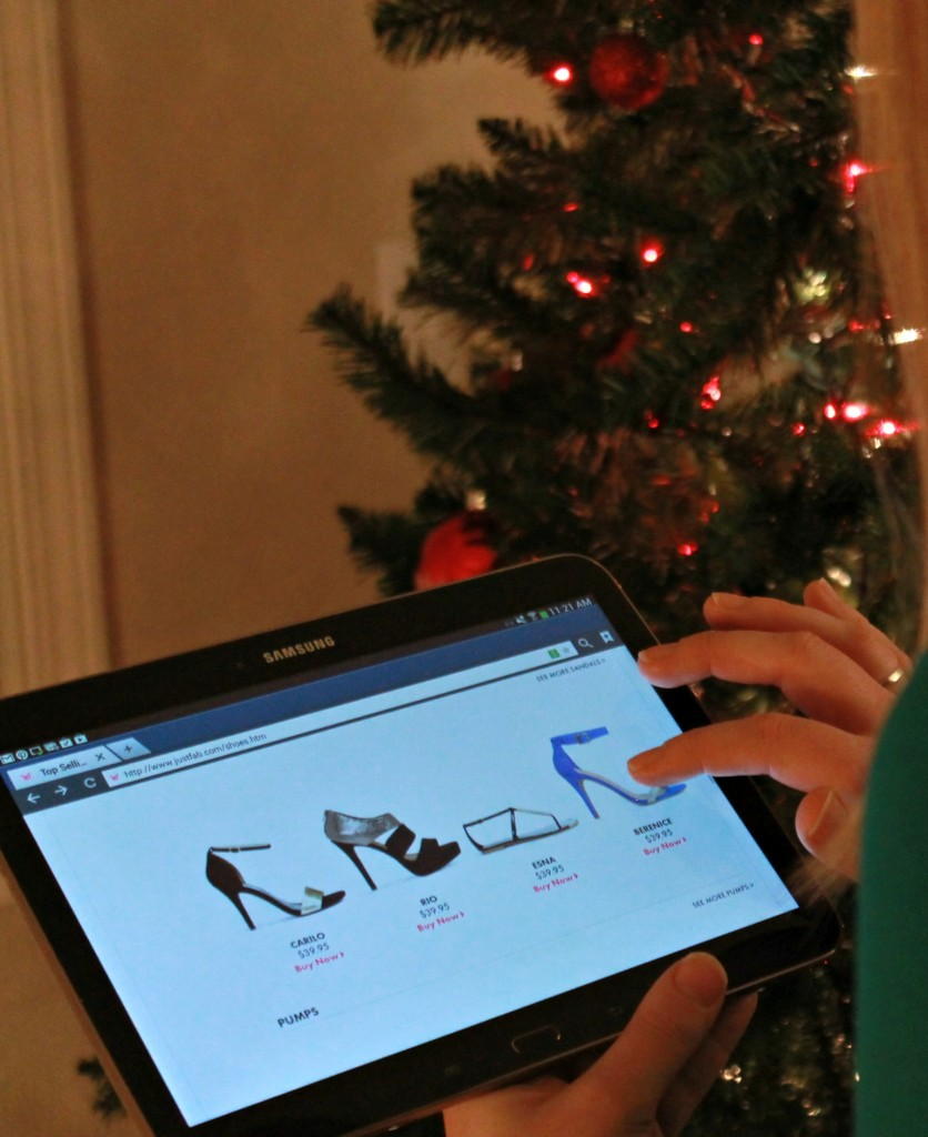 Shopping for Shoes on my Samsung Intel Tablet, #inteltablets, #tabletcrew