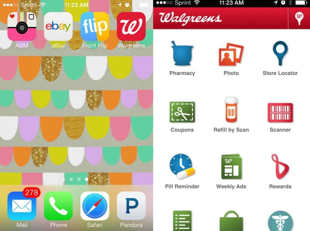 Walgreens App, #shop