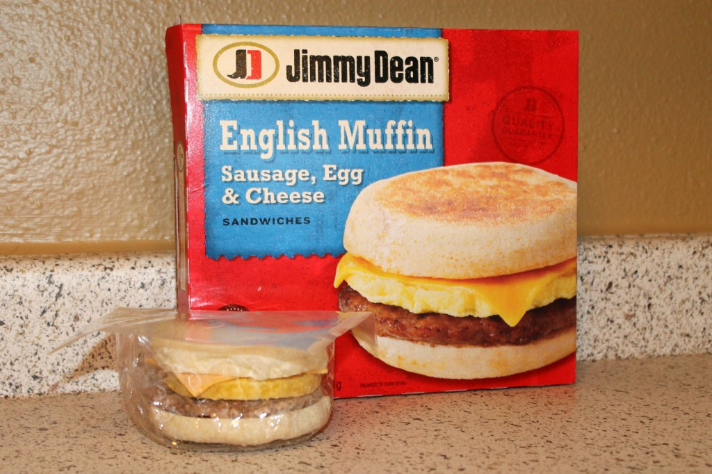 Jimmy Dean Sausage, Egg & Cheese Breakfast Sandwich #RedboxBreakfast #PMedia #ad