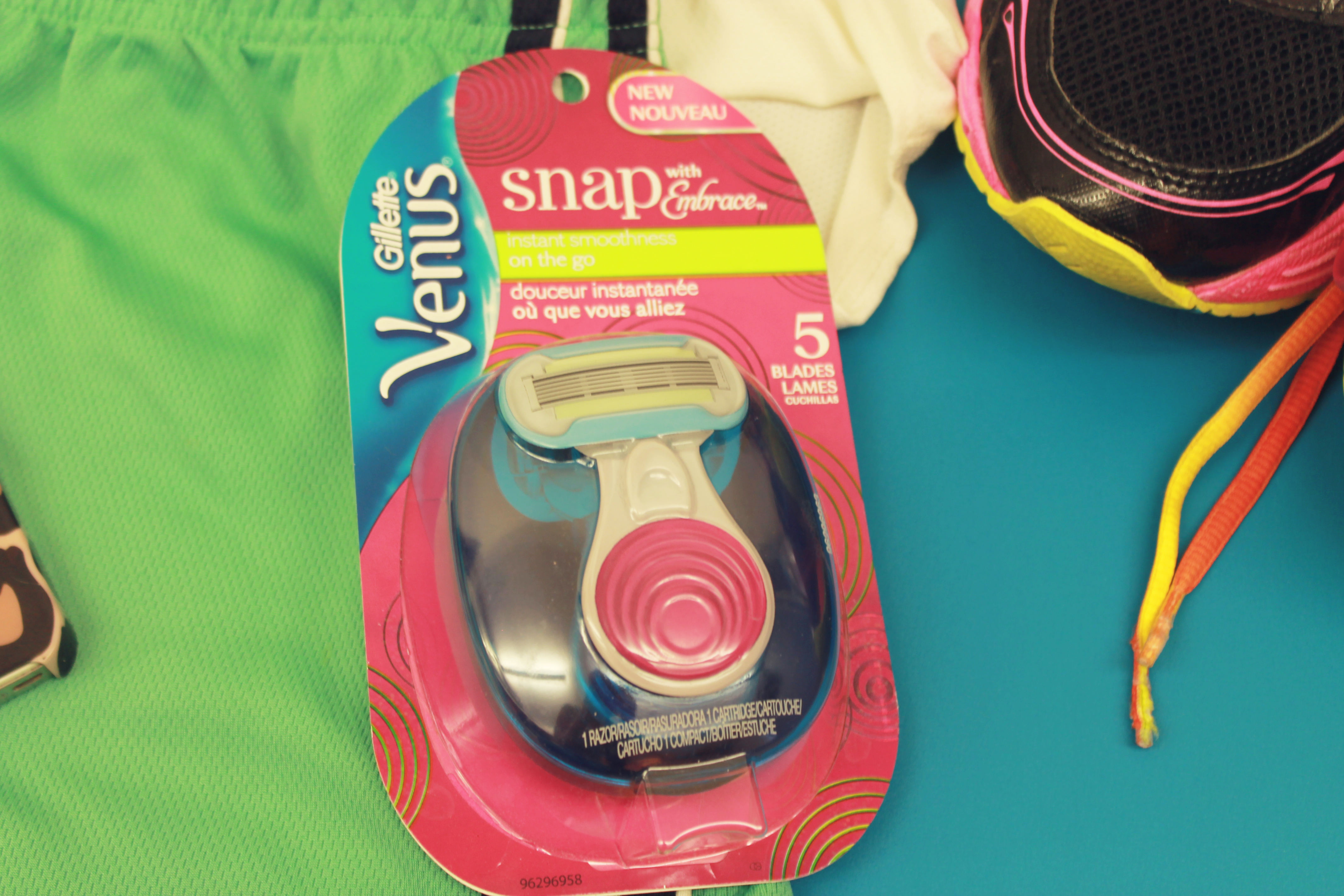 #SnapAtTarget #CleverGirls on-the-go razor, easy to use