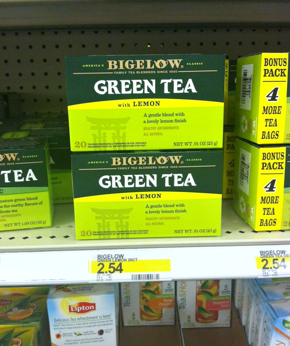 Bigelow Green Tea with Lemon #shop