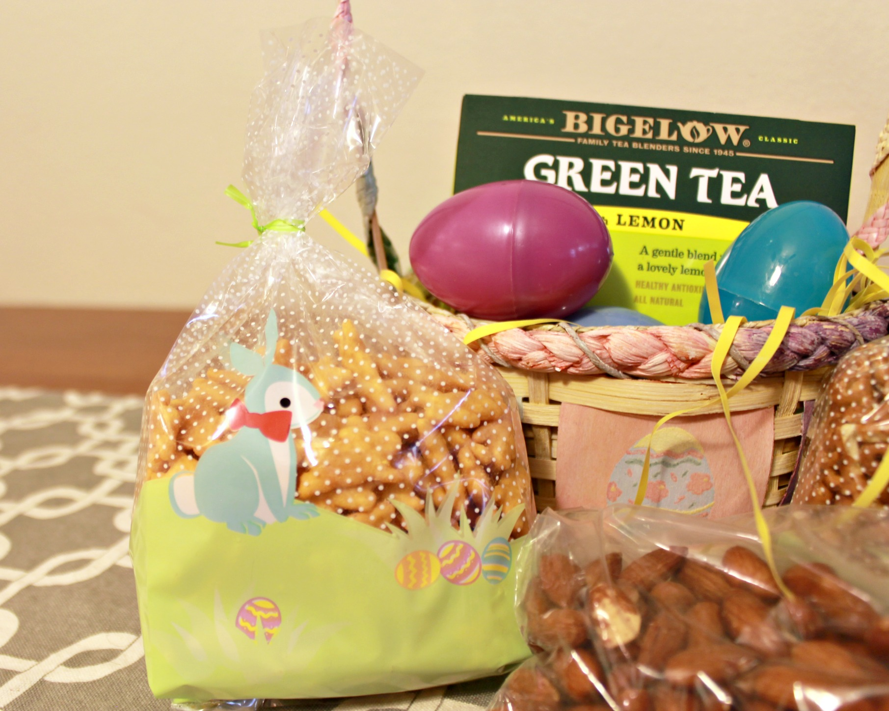 Bunny Crackers, Pretzels and Bigelow Tea for Easter! #TrendTea #CollectiveBias #shop