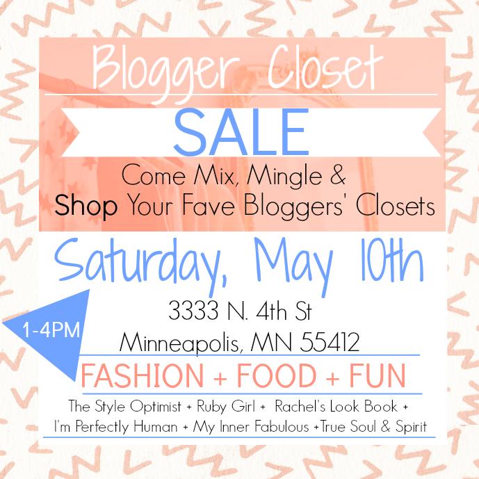 Blogger's Closet Sale!