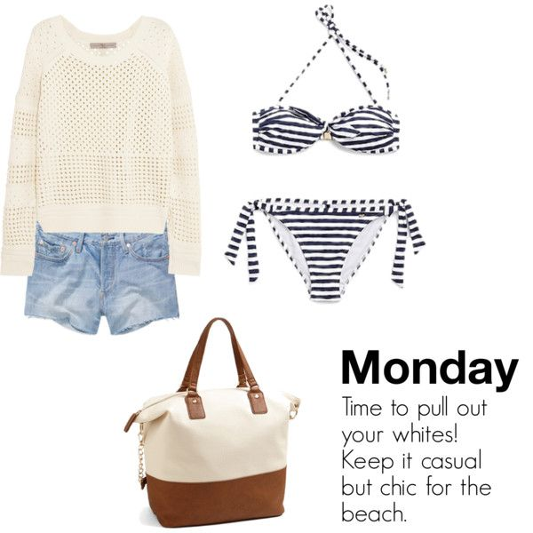 What to Wear Memorial Day Weekend - Monday Beach Day