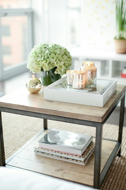 how to style your coffee table for summer rachel 39 s lookbook
