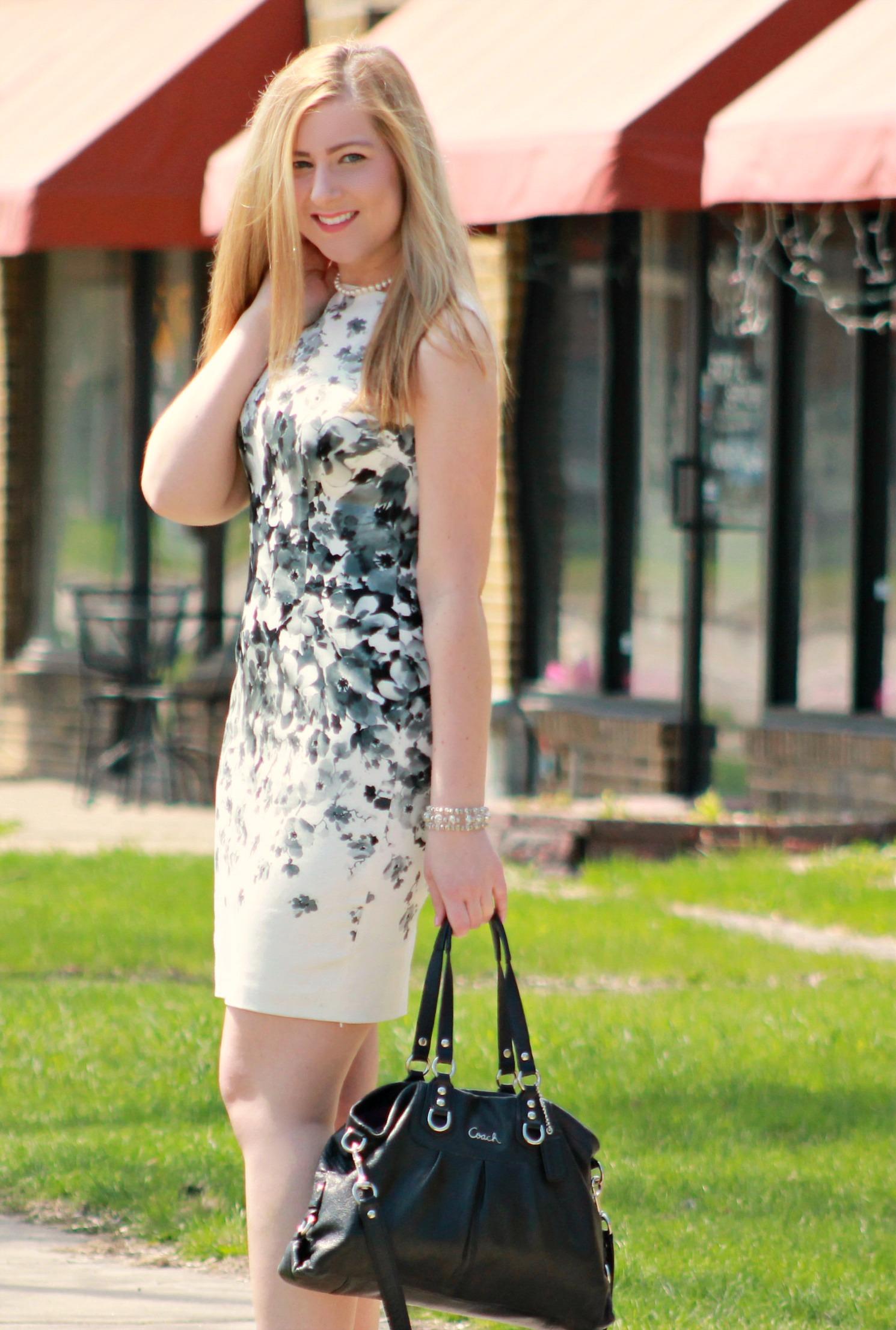 Magg London Floral Dress