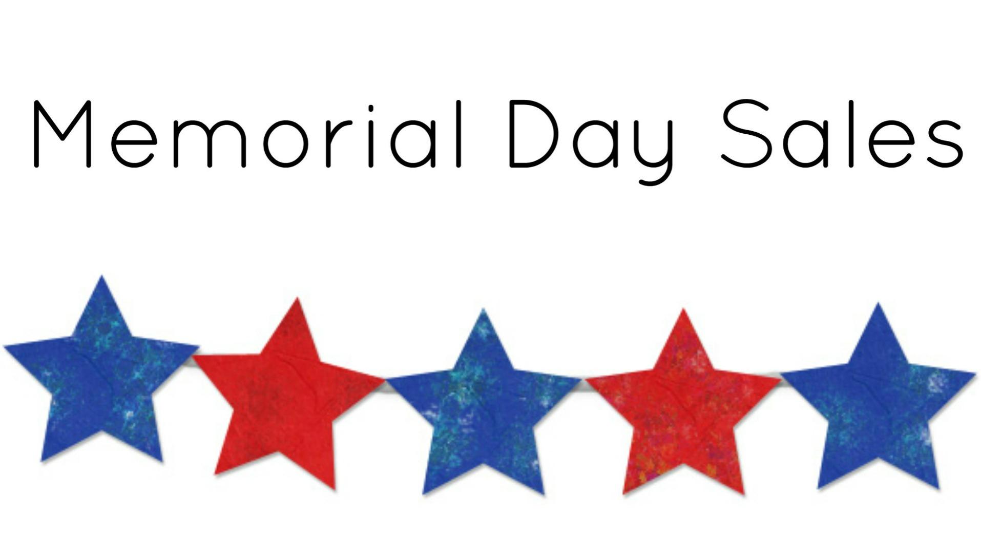 Memorial Day Sales 2014