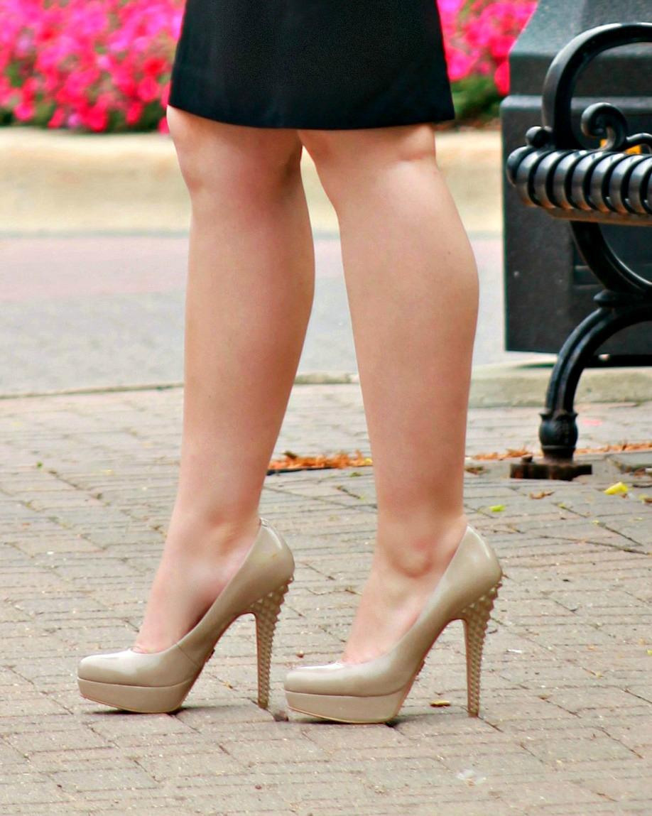 Rachel Roy Nude Heels