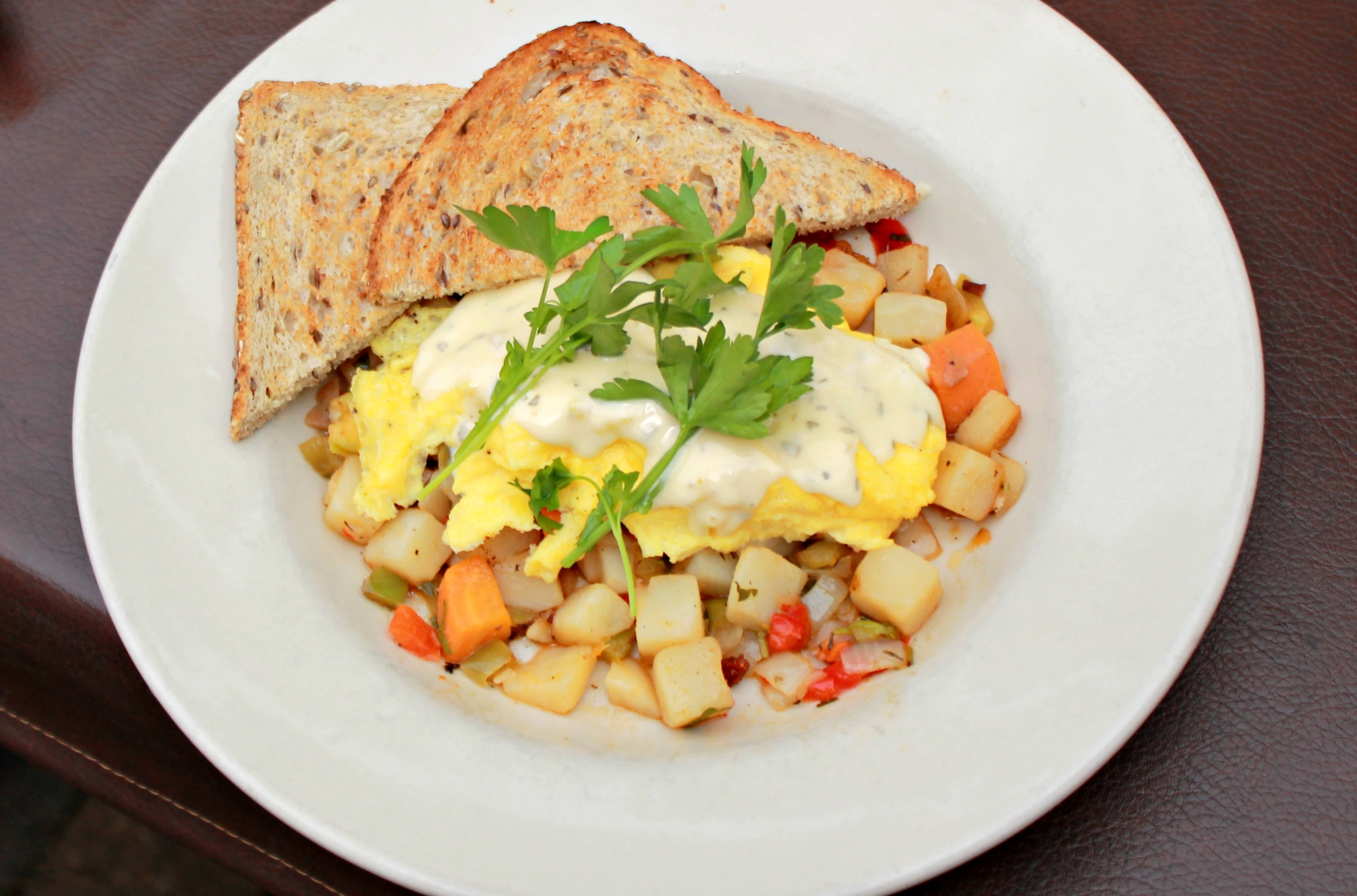 Roasted Veggie Hash