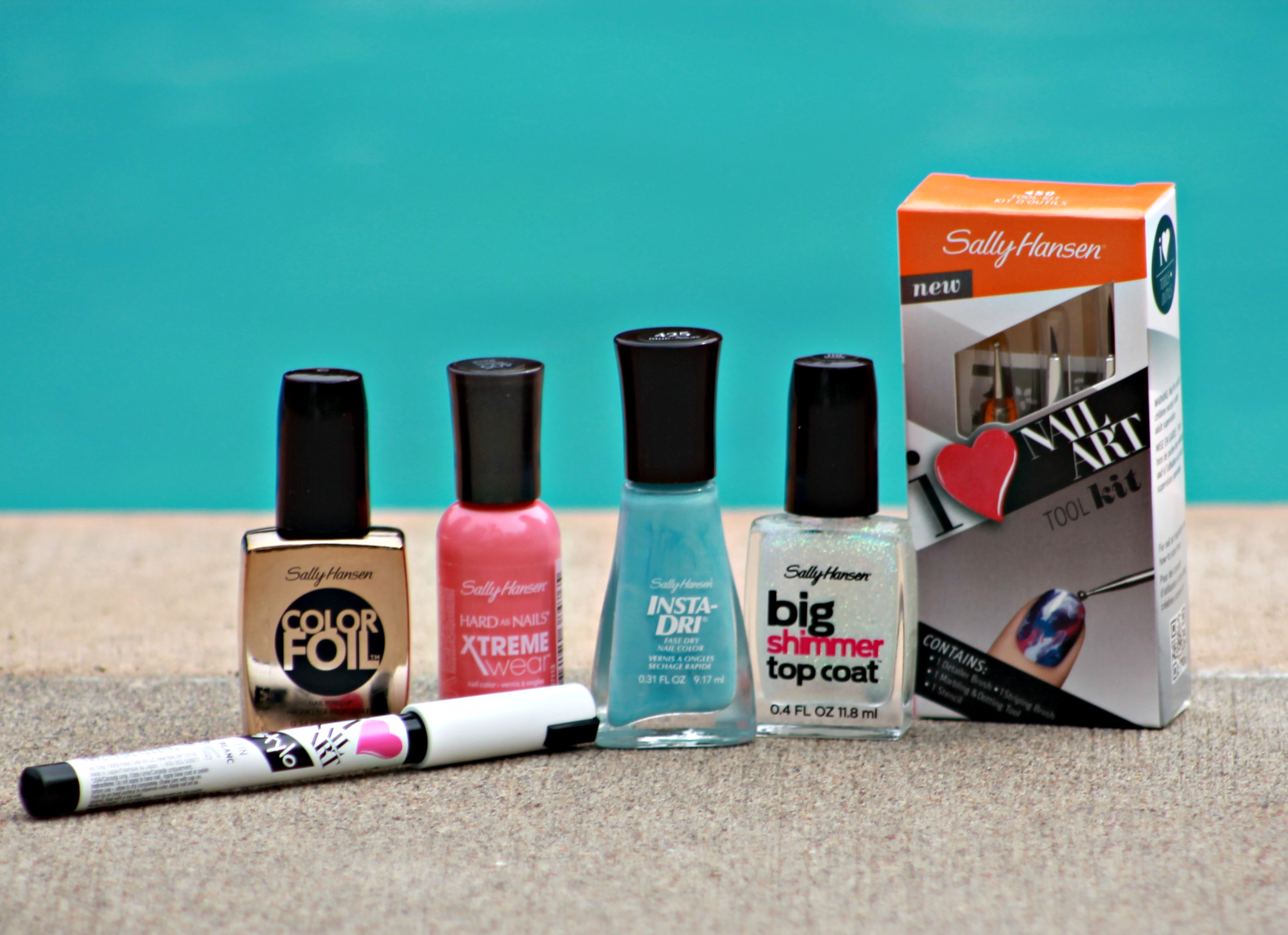Sally Hansen Products for #MySummerLook