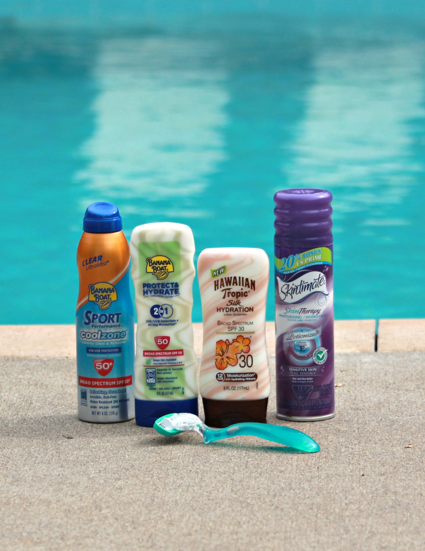 Smooth Legs with products from Target #MySummerLook