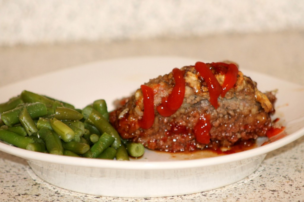 meat loaf + green beans