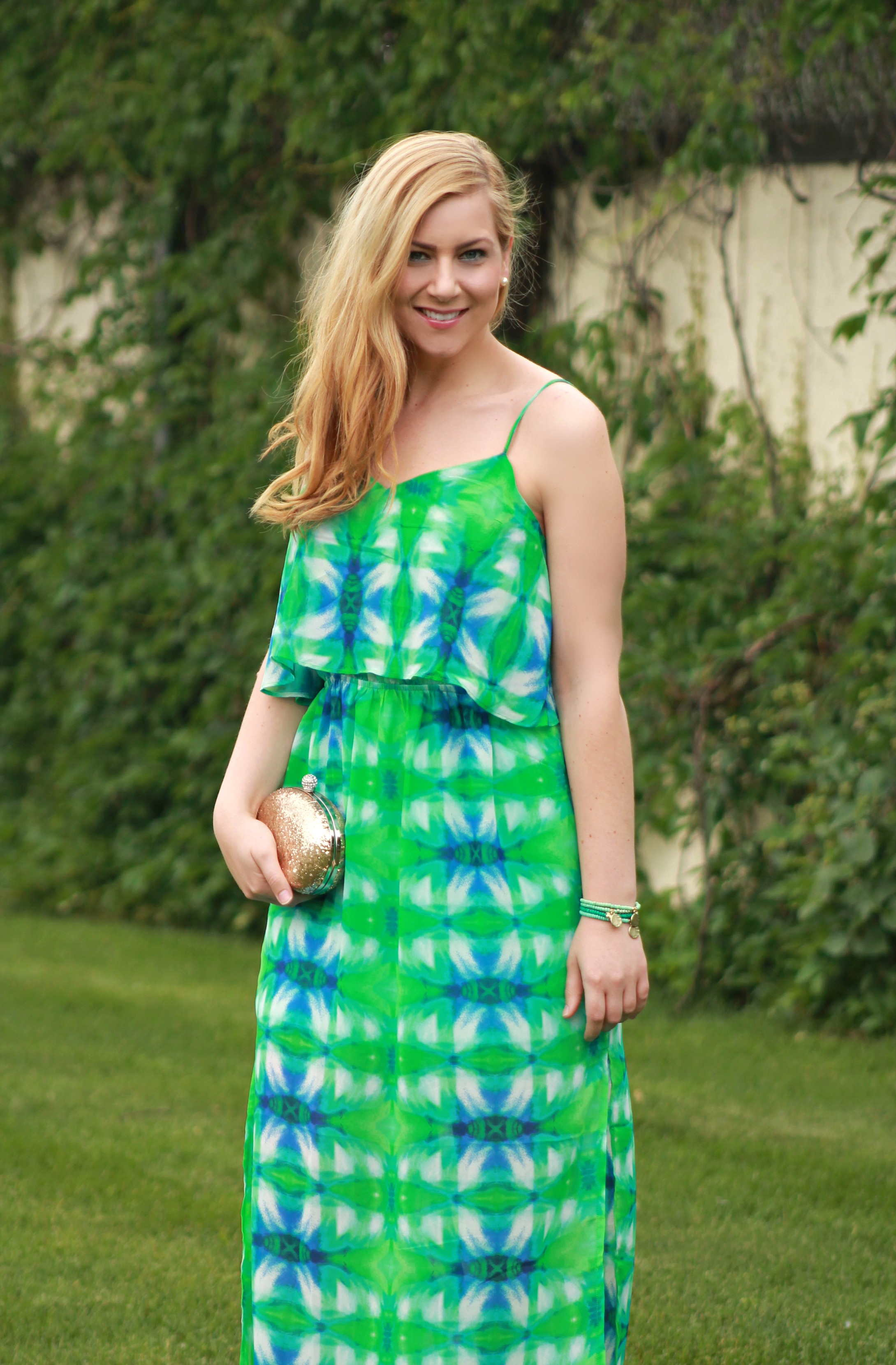summer maxi dress for date night