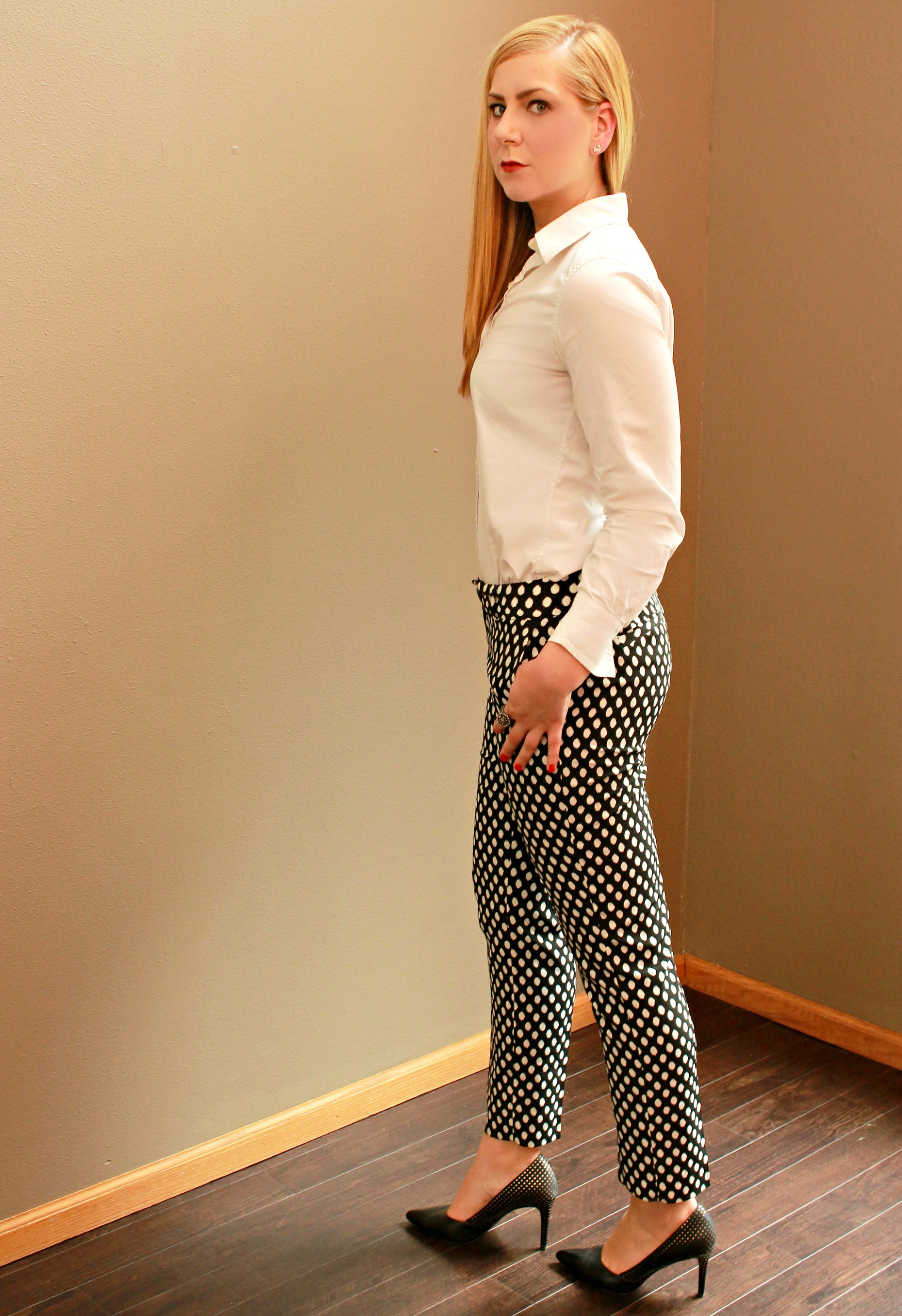 Banana Republic Printed Pants