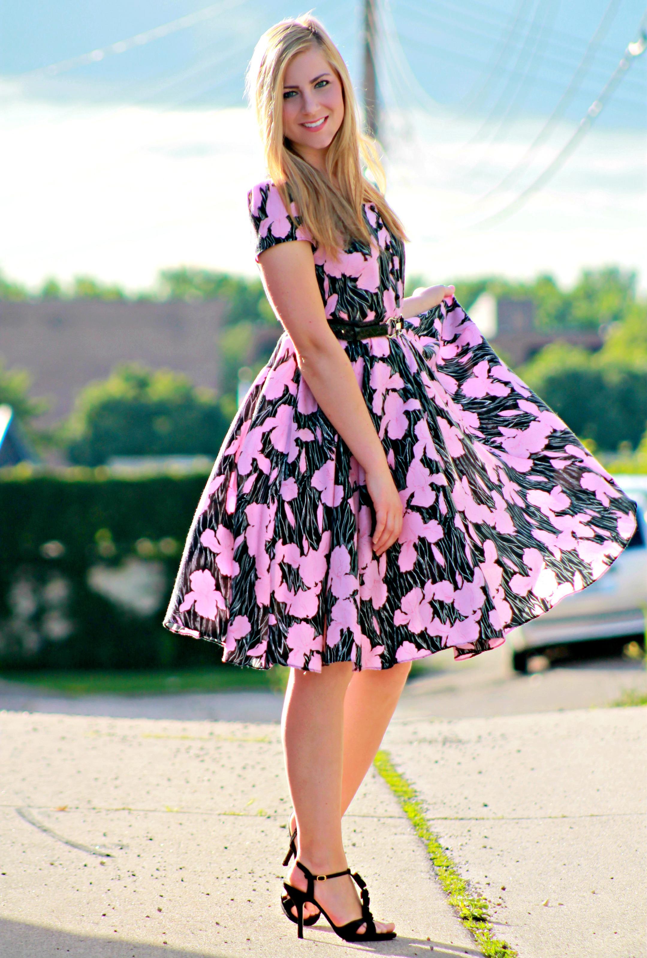 Vintage Floral Dress - Rachel's Lookbook