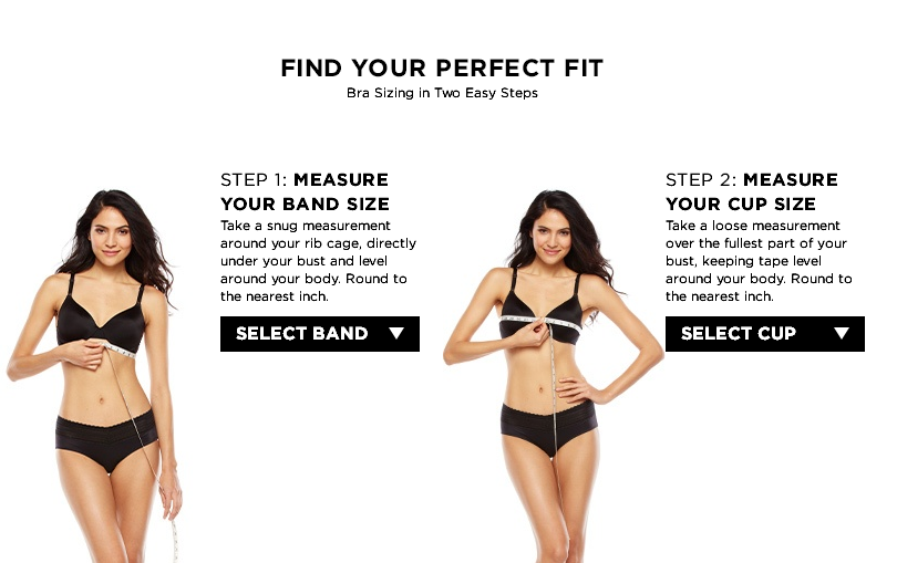 Find Your Perfect Fit_Finding the Correct Bra Size