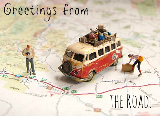 Greetings from The Road_Road Trip PostCard