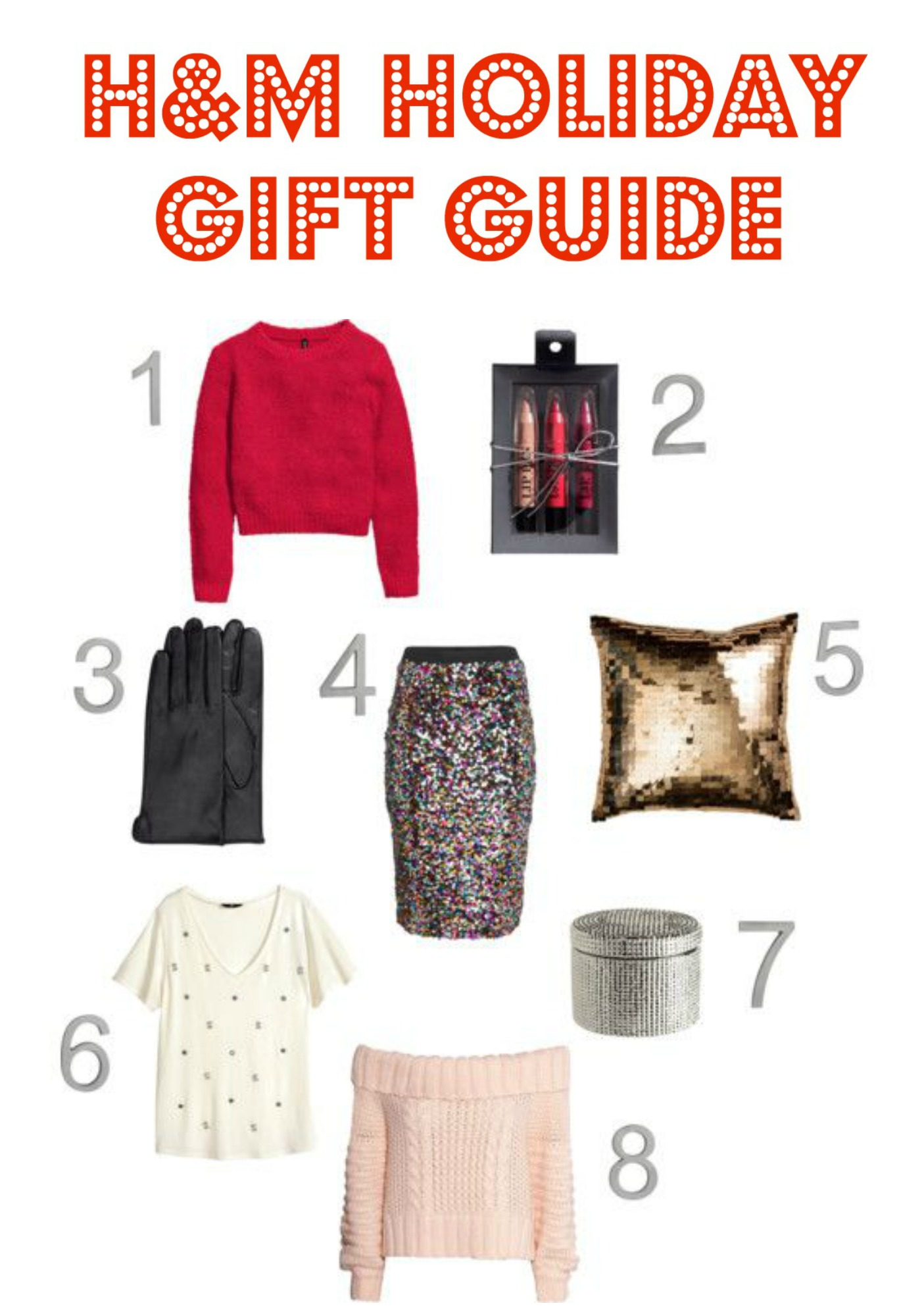 H&M Holiday Gift Guide 2014