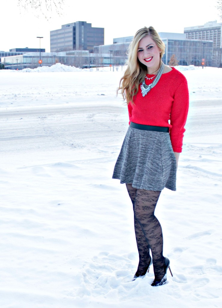 holiday party look with H&M