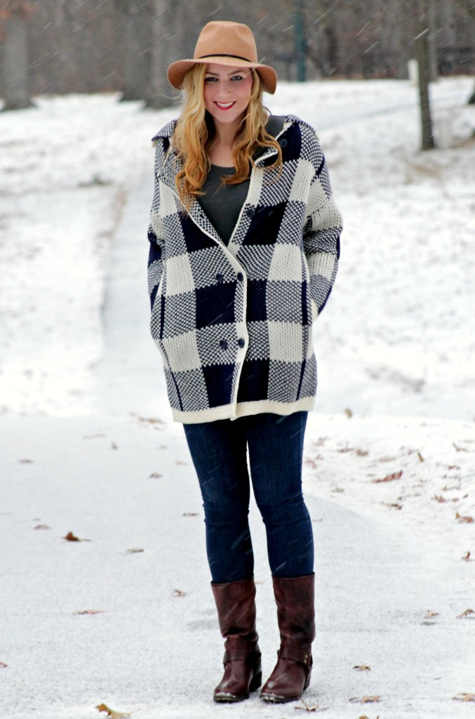 piperlime moments of chic joa sweater and lucky brand boots