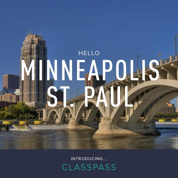 Minneapolis St. Paul Class Pass