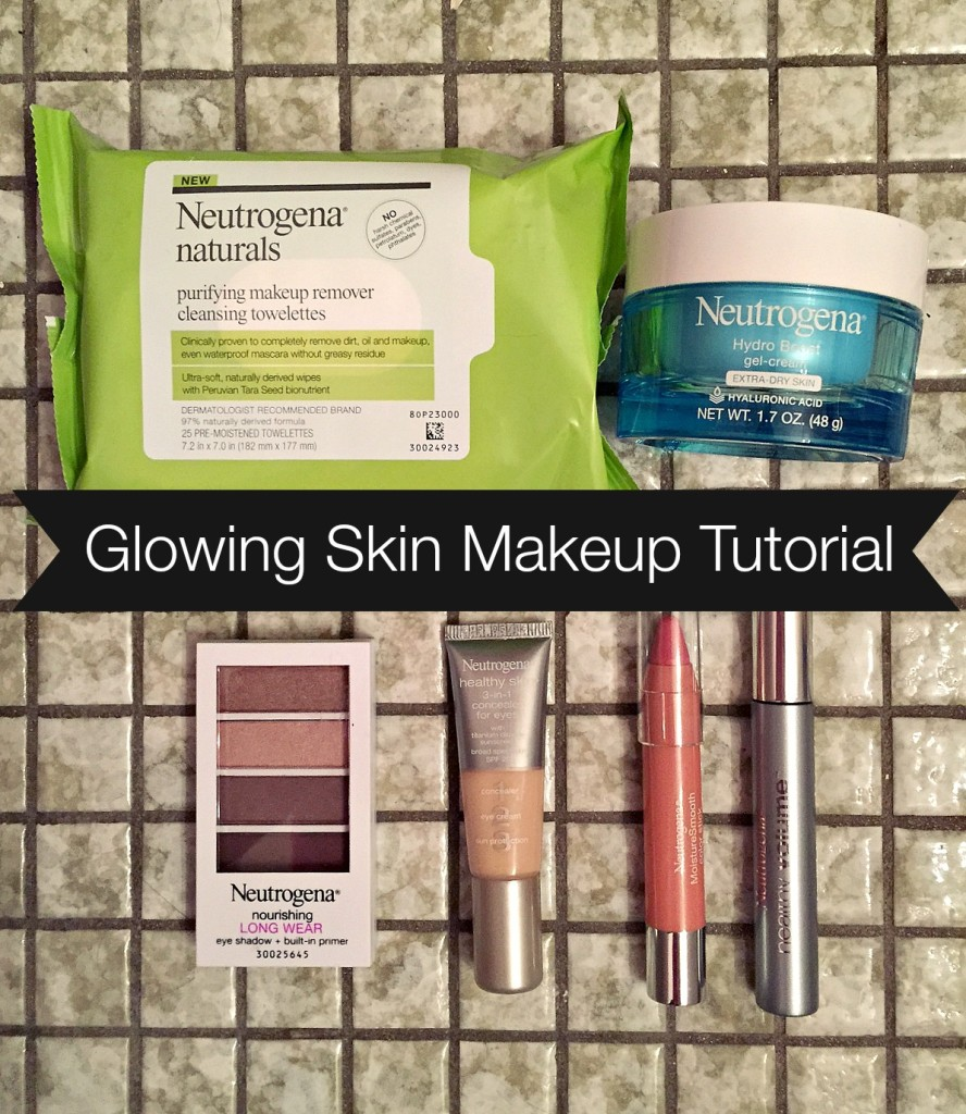 glowing skin makeup tutorial