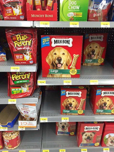 milk-bone and pup-peroni