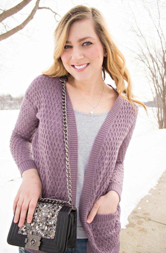 cozy cardigan sweater