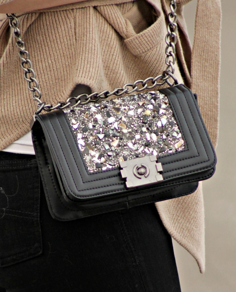 gemstone crossbody bag