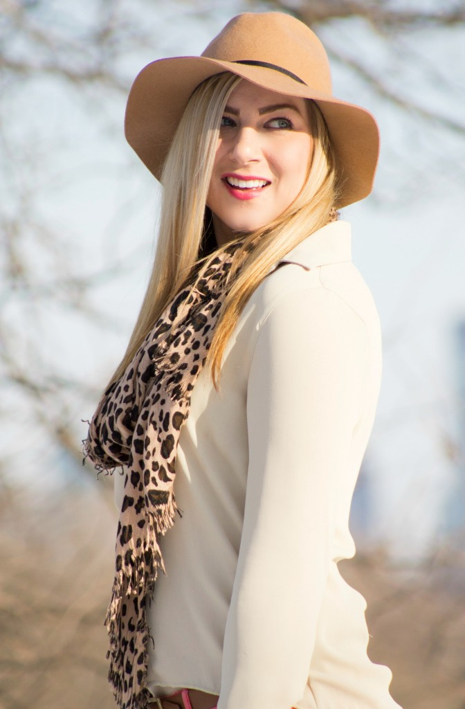leopard scarf style