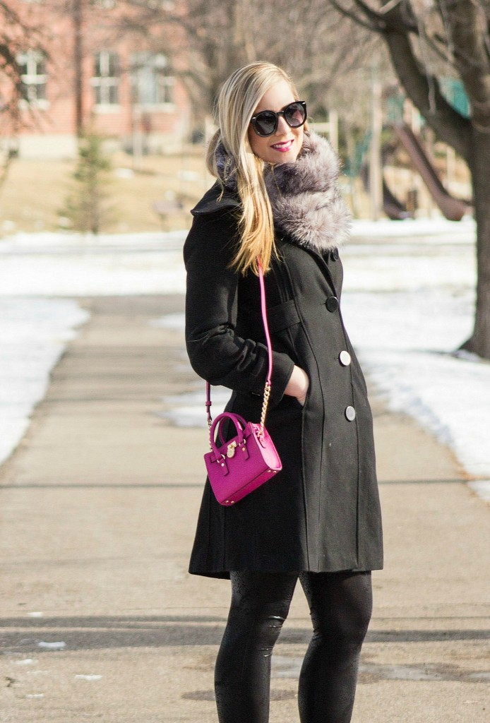 winter outfit_mini pink bag