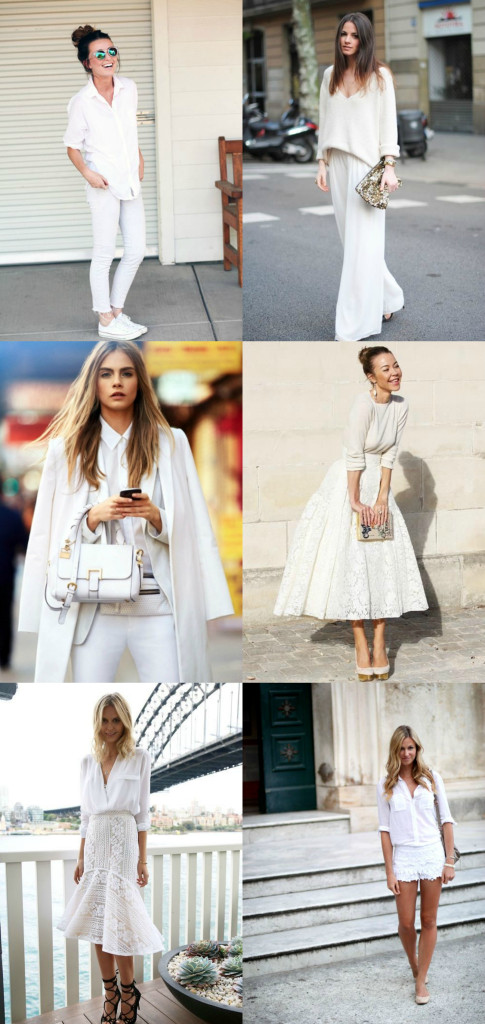 How t o Style an All White Outfit