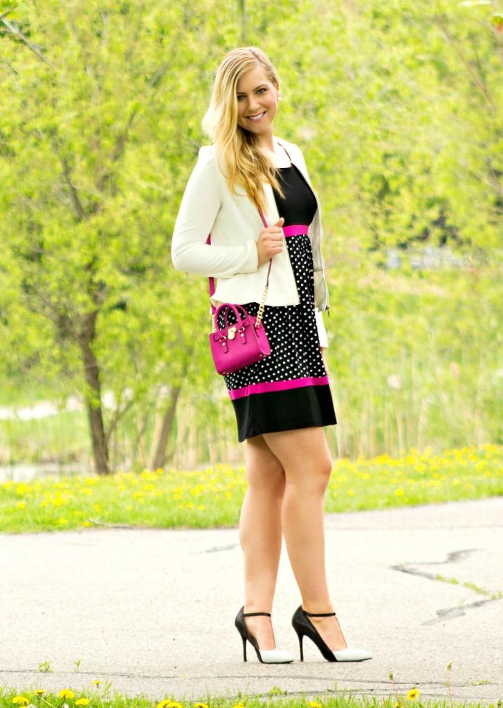 Tulip dress + high heels