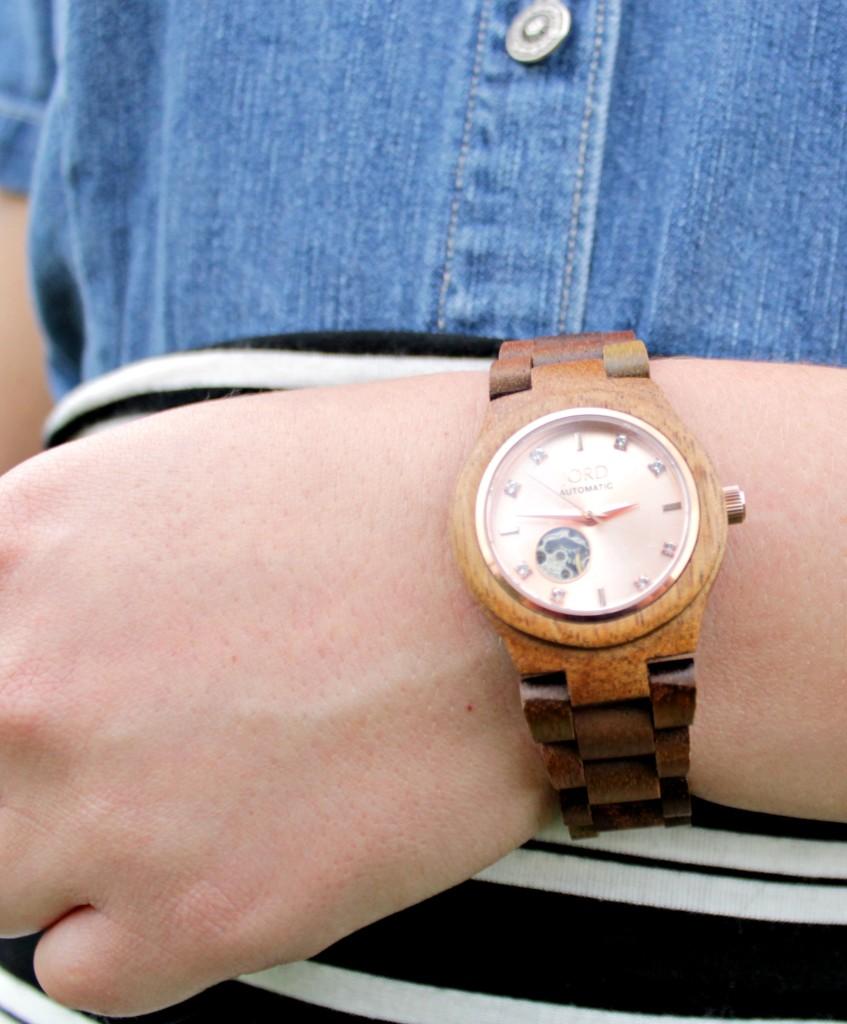 Jord Dark Wood Watch