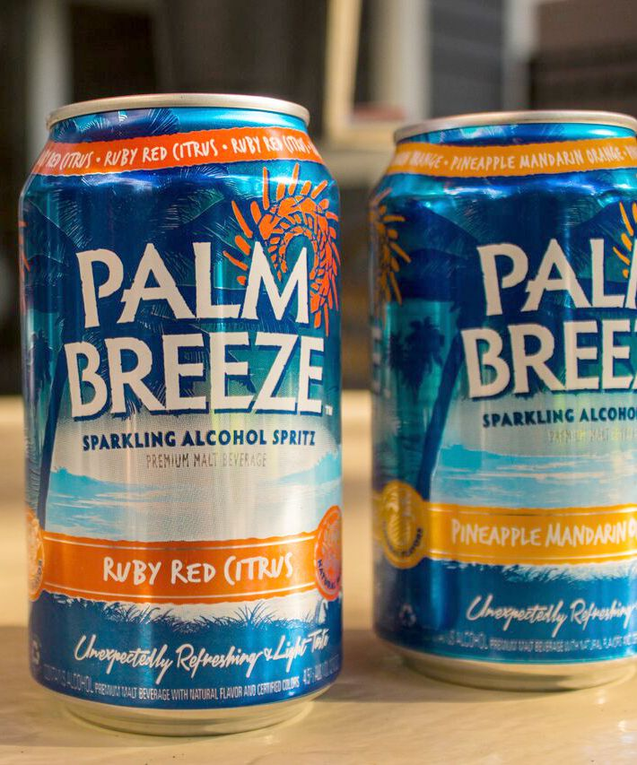 Palm Breeze Drinks