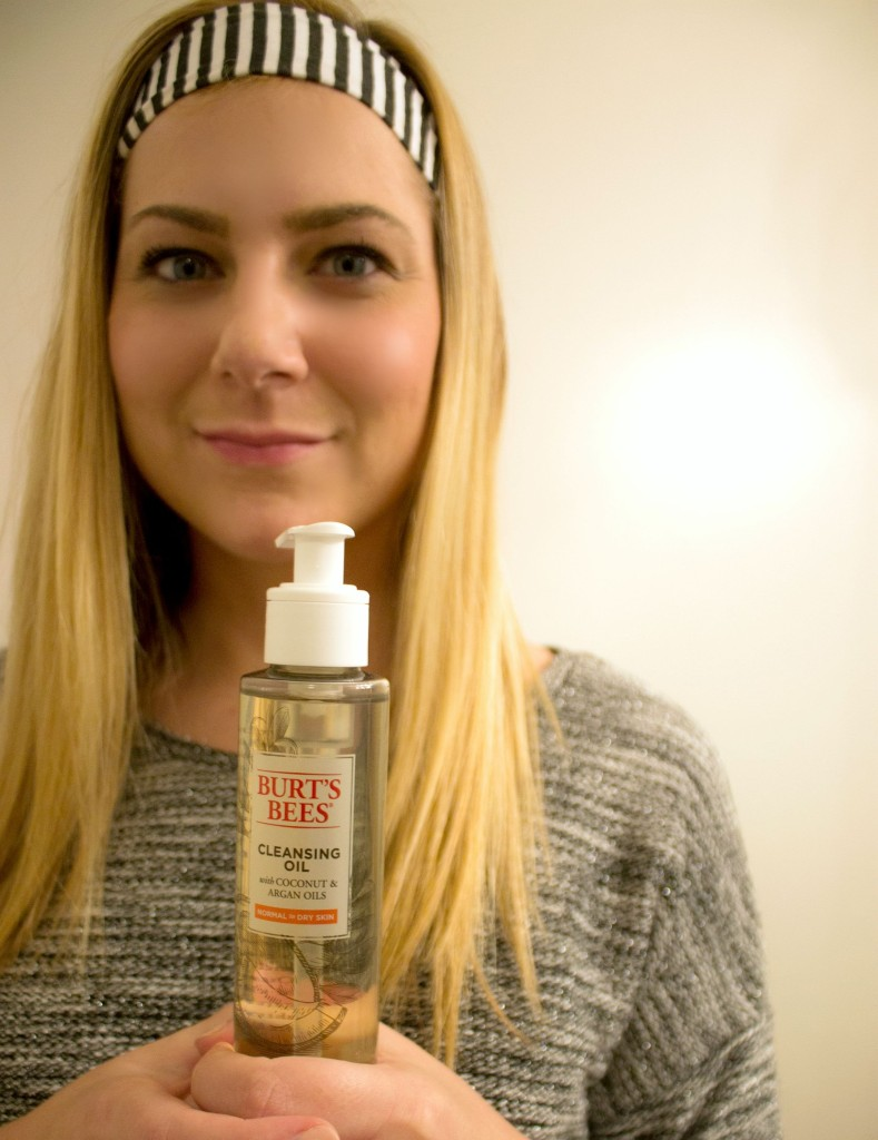 Burt's Bees Cleansing Oil for Nighttime Routine