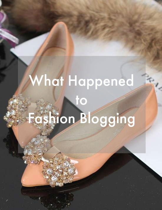 what Happened to Fashion Blogger