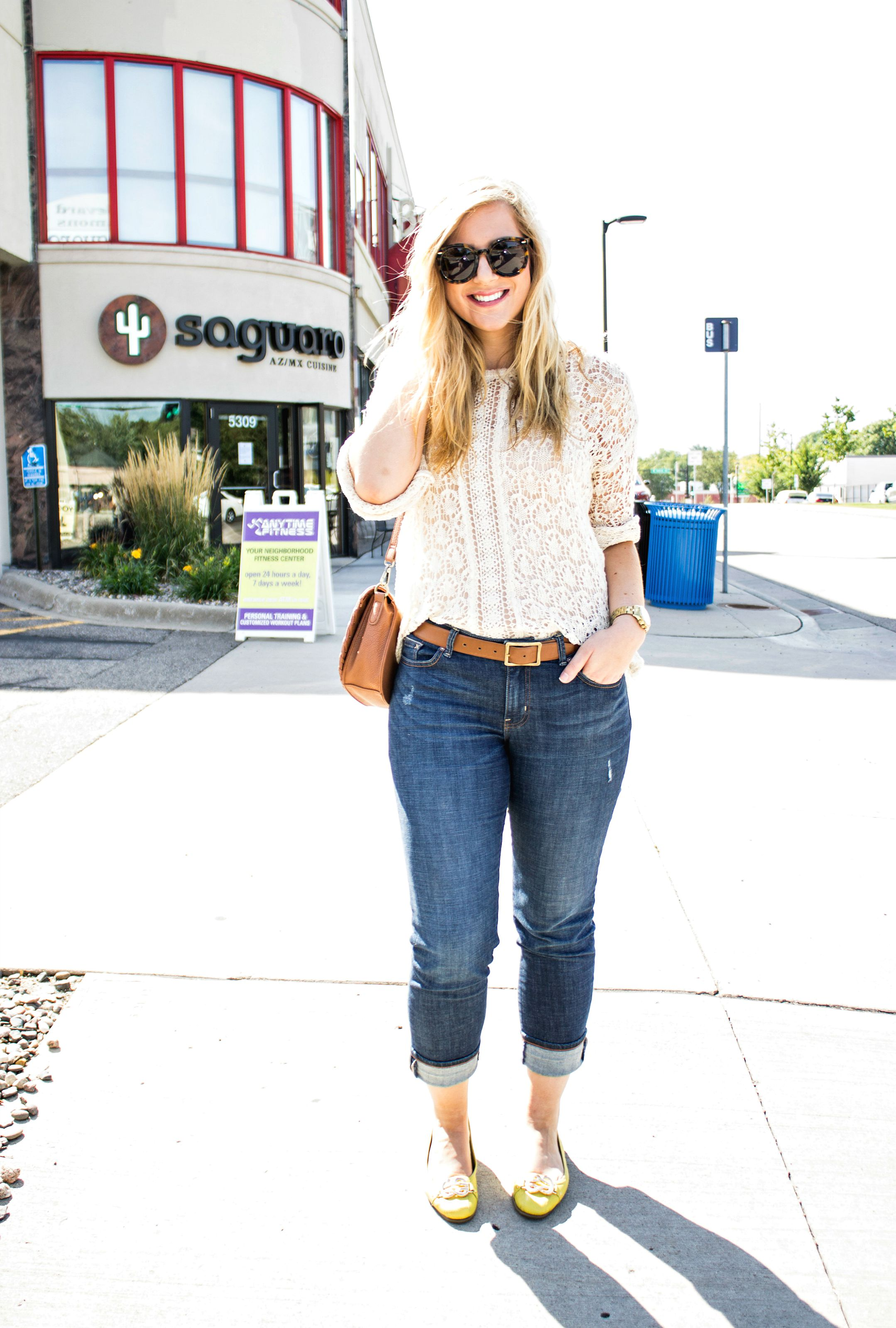 Boyfriend Jeans & Brunch - Rachel's Lookbook