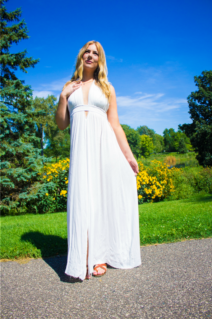 White Summer Maxi Dress